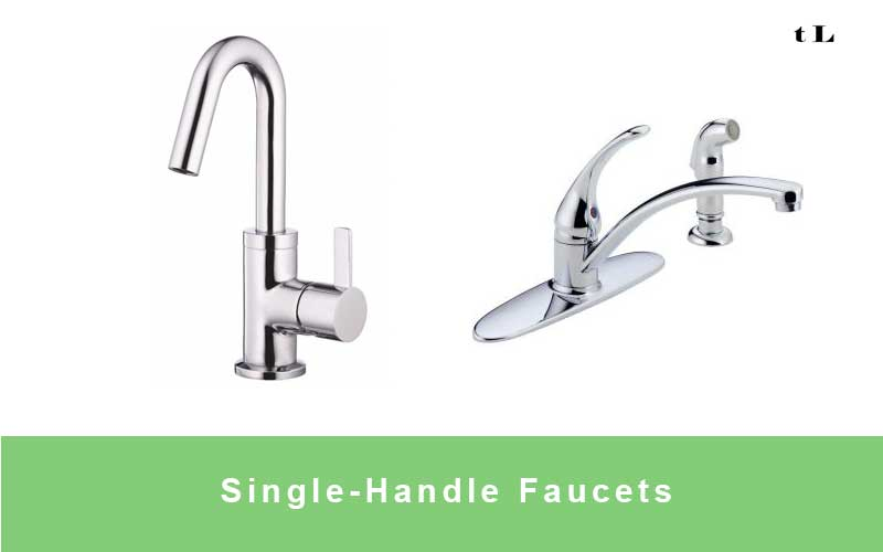 Single-Handle Kitchen Faucets