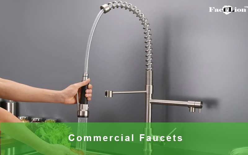 Commercial Style Kitchen Faucets