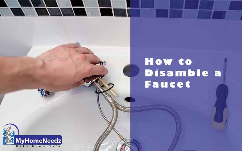 Disassemble a faucet easily
