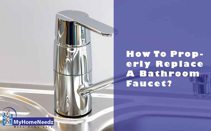Replace and install a faucet