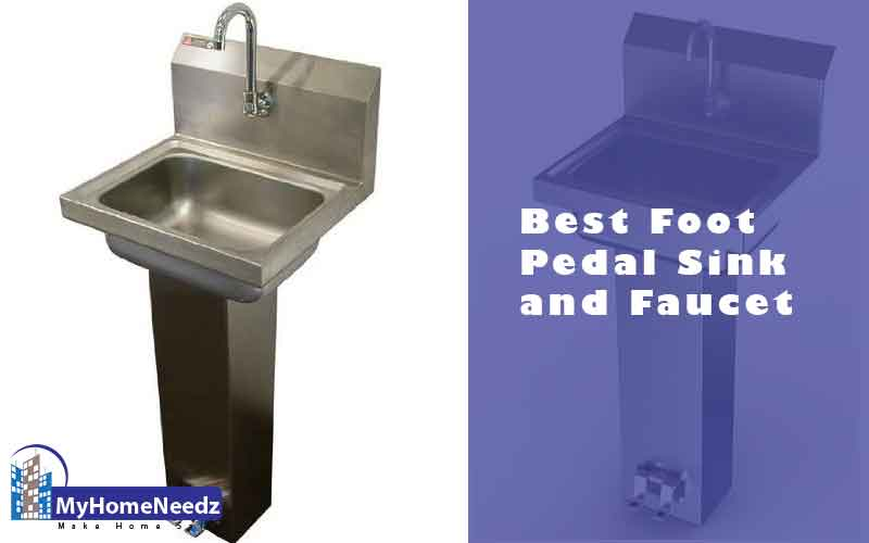 Best foot pedal sink and faucet