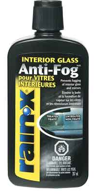 Glass anti fog